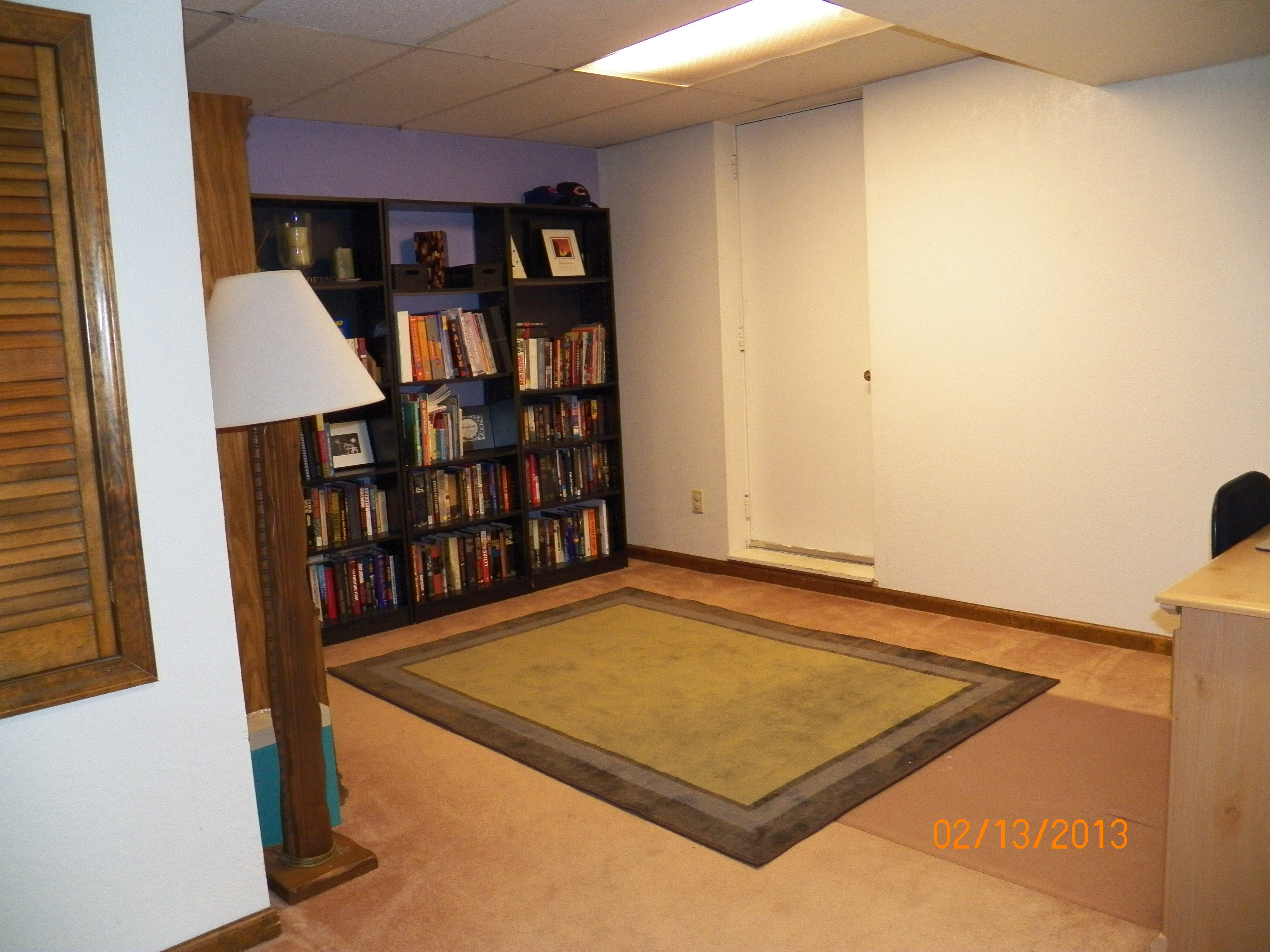 Basement Desk Area Denbesten Real Estate Bloomington
