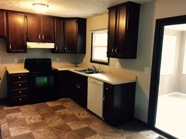 YES!! 5 Bedroom And 2 Bathroom House For Sale In Normal, IL » New Kitchen  Vinyl And Tall Cabinets